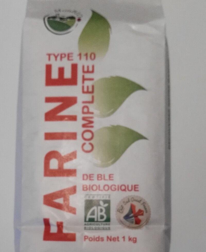 Cocotte et Potiron Farine De Blé Bio T110 (1kg) Origine Gers
