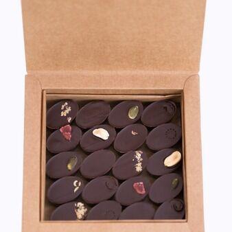 Mon jardin chocolaté Boîte de 20 Chocolats Bio