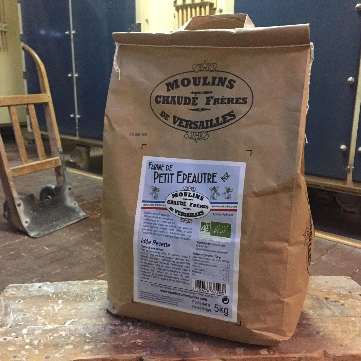Moulins de Versailles Farine De Petite Epeautre Bise Bio - 5kg