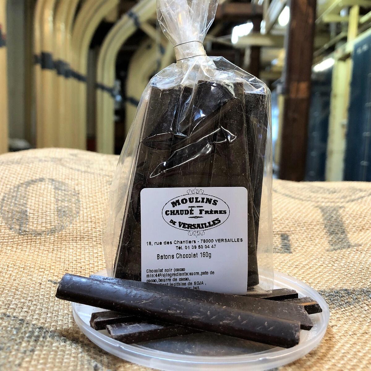 Moulins de Versailles Bâtons Chocolat Noir Pour Petits Pains - 160g