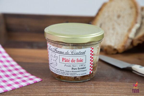La Ferme de Cintrat Pâté de foie de porc en bocal