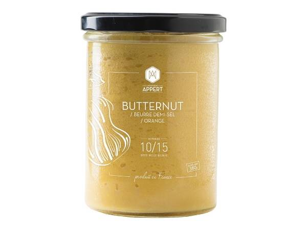 Monsieur Appert Butternut/beurre Demi Sel/zeste Orange
