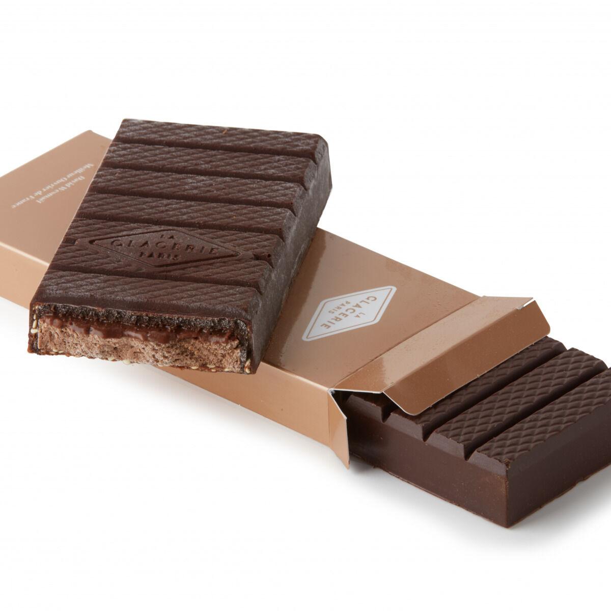 La Glacerie par David Wesmaël - Meilleur Ouvrier de France Glacier Tablette de Chocolat Glacée Très Chocolat