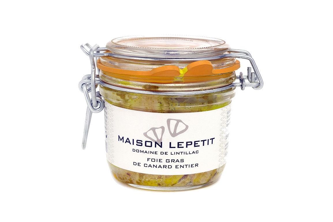 Maison Lepetit Foie Gras De Canard Entier