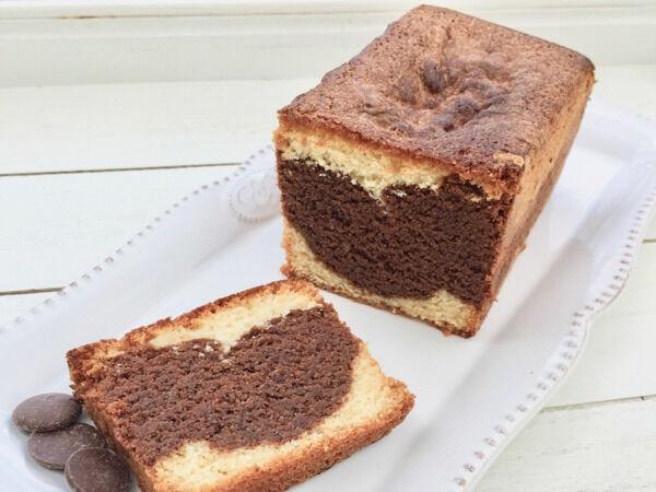 Les Desserts d'Ici Le Cake Marbré Chocolat-vanille