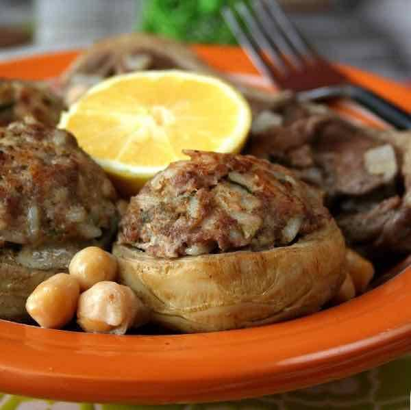 Graines Précieuses Cœur d'artichaut farci au filet de poulet et aromates de Provence
