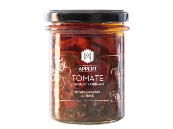 Monsieur Appert Tomates/basilic/origan Séchées Et Marinées À L'huile