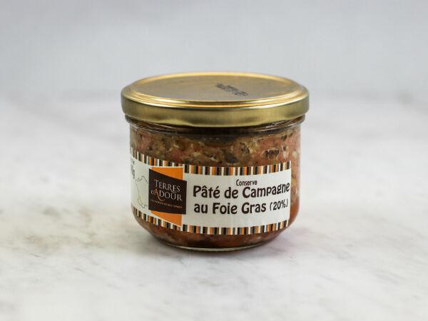 Terres d'Adour Paté De Campagne Au Foie Gras 20%