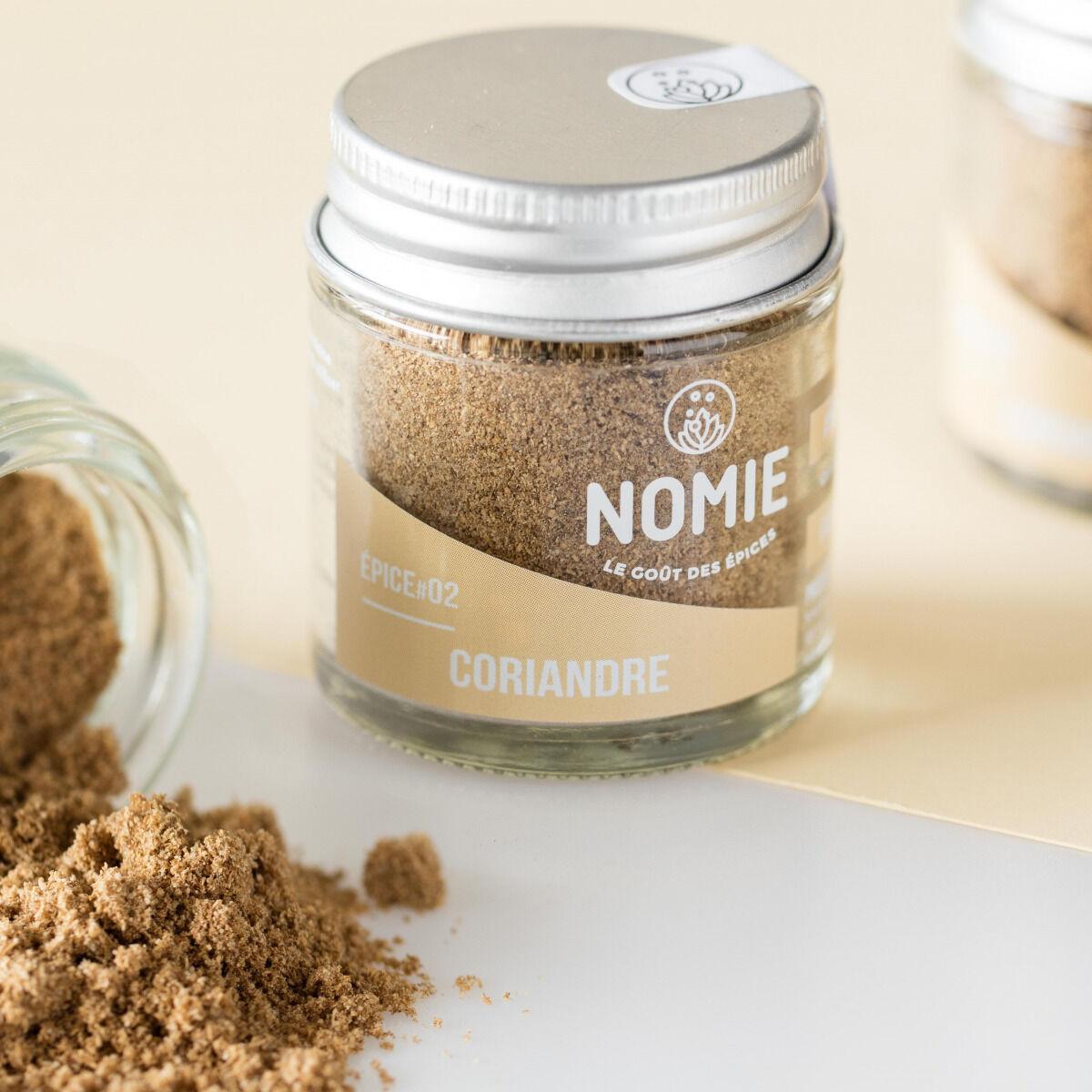 Nomie, le goût des épices Graines De Coriandre En Poudre