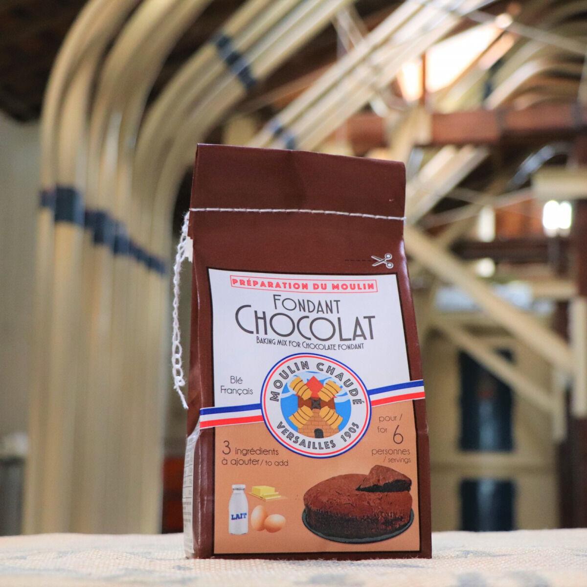 Moulins de Versailles Préparation Pour Fondant Au Chocolat - 375g
