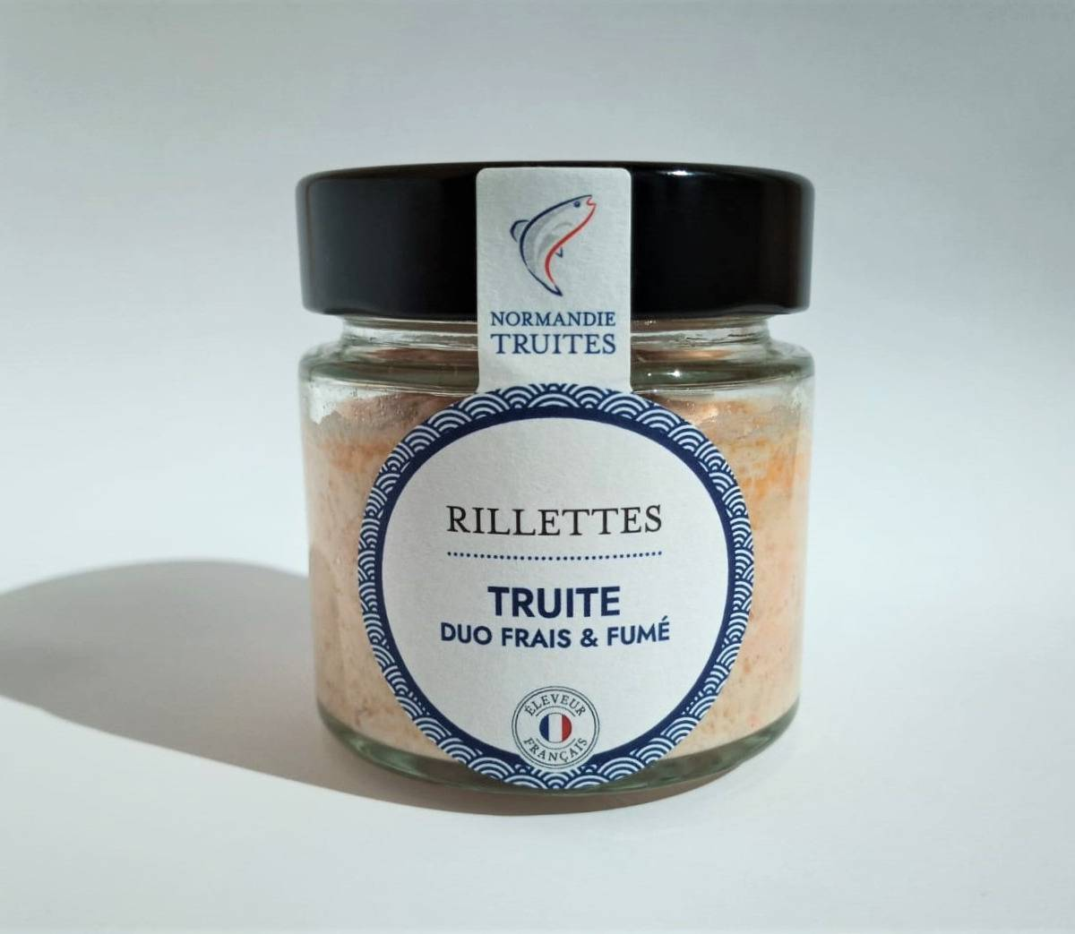Saumon de France Rillettes de truite duo frais et fumé