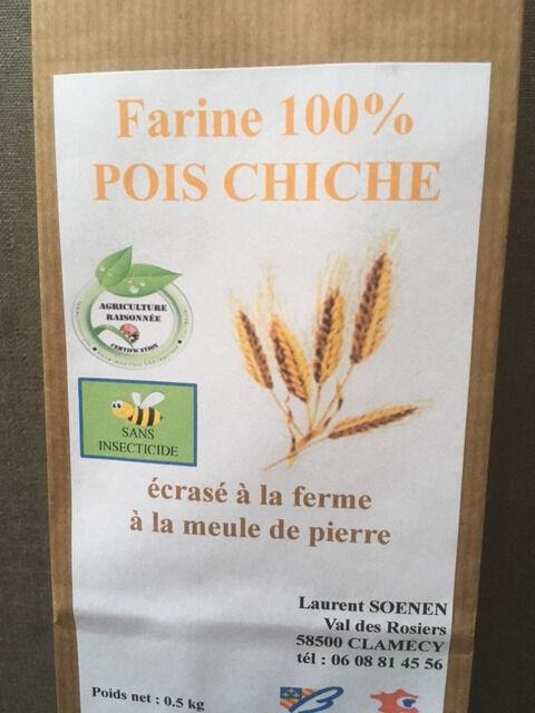 FARINE DE LA TUILERIE Farine de Pois Chiche - 500 gr