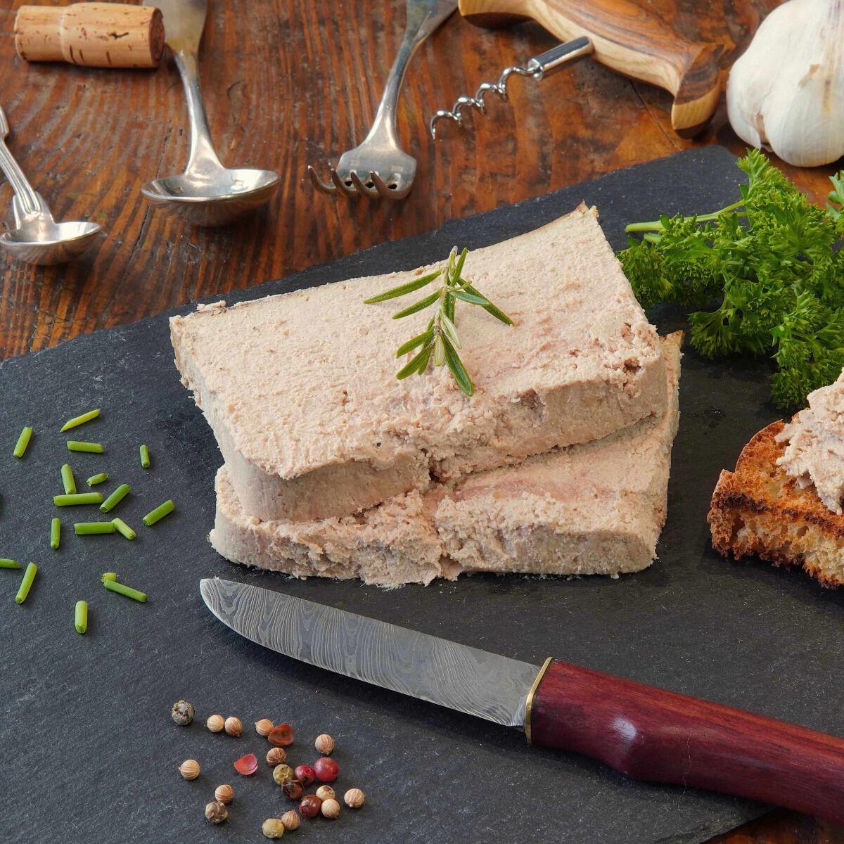 La Ferme du Chaudron Pâté de Foie BIO - 250 g