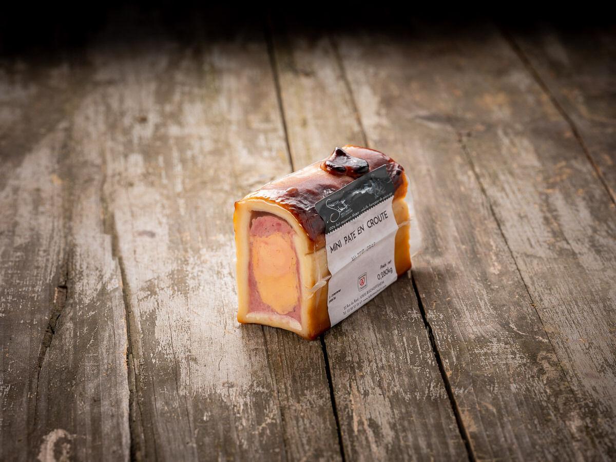 La Ferme Schmitt Mini Pâté En Croûte au Foie Gras d'Alsace