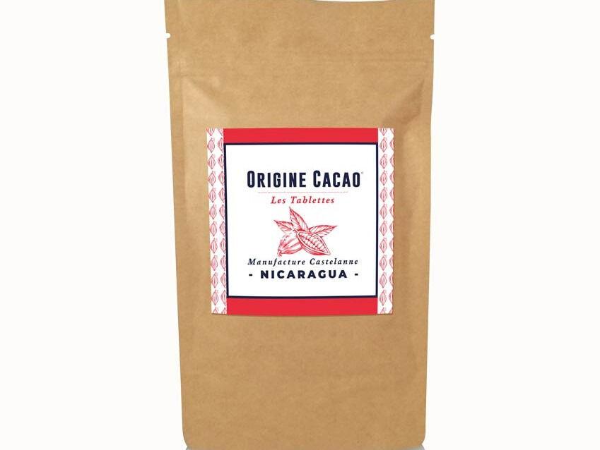Maison Castelanne Chocolat Tablette Nicaragua - Fèves Origine Bio