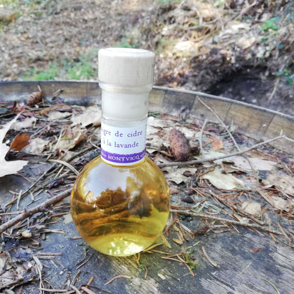 Vinaigres de la Carrière Vinaigre de Cidre à la Lavande bio - 100 ml