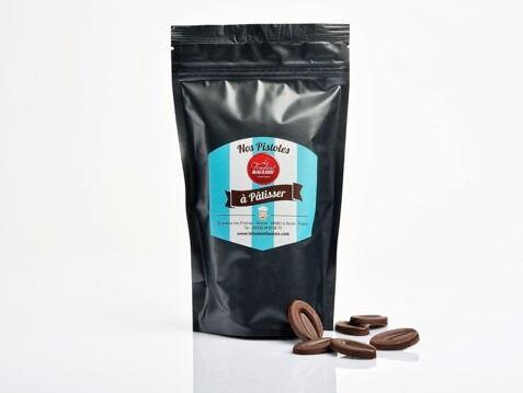 Le Fondant Baulois Pistoles Chocolat 200g - Chocolat Noir Pour Pâtisserie