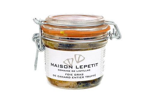 Maison Lepetit Foie Gras De Canard Entier Truffé 5%