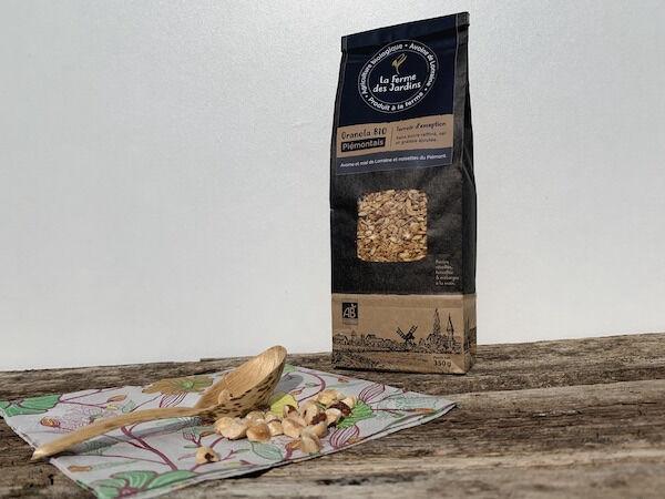 Ferme des Jardins Granola Bio Piemontais : Miel Et Noisette Du Piemont