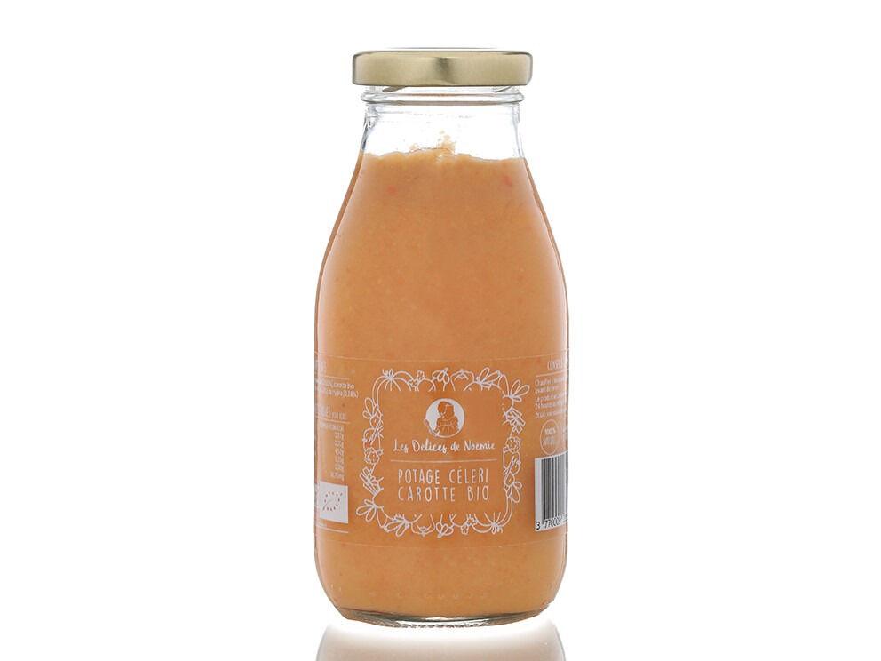 Les délices de Noémie Soupes pour Bébé dès 8 Mois: Lot de 3 Potage Céleri Carotte Bio