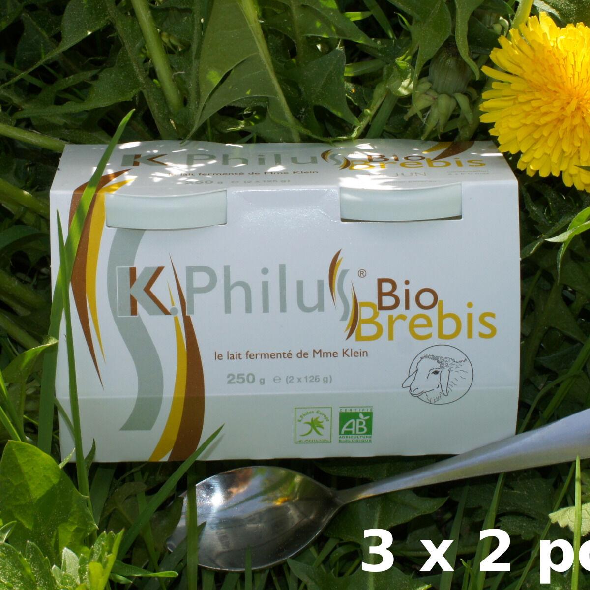 Laiterie du Climont - K-Philus 6 Pots De K-philus Au Lait Entier De Brebis