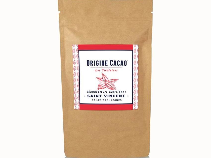 Maison Castelanne Chocolat Tablette Saint Vincent Et Grenadines 75% - Fèves Origine Bio
