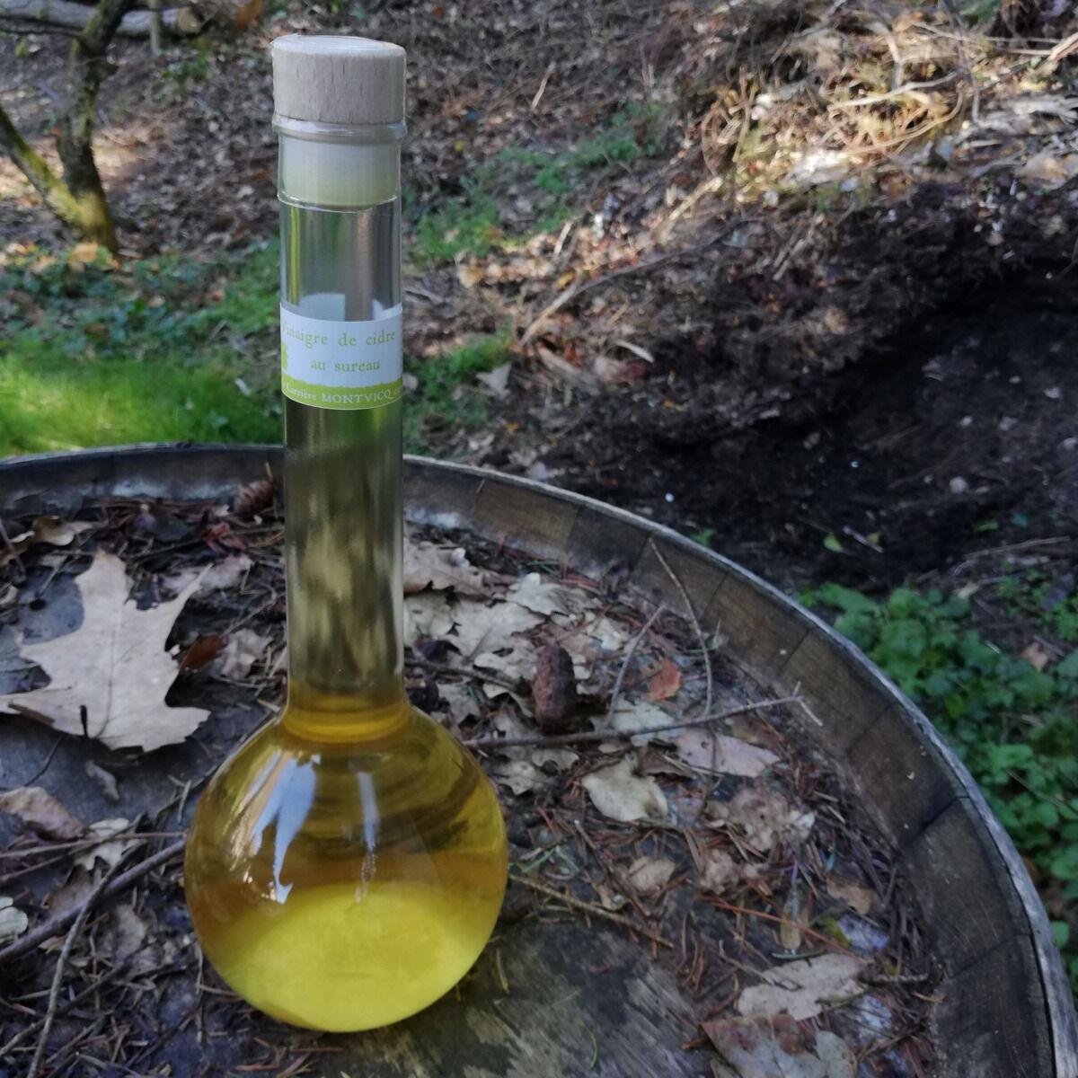 Vinaigres de la Carrière Vinaigre de Cidre au Sureau bio - 500 ml