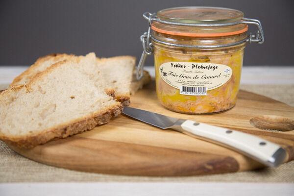 Ferme de Pleinefage Foie Gras de Canard entier cuit 350 g (5 ou 6 personnes)