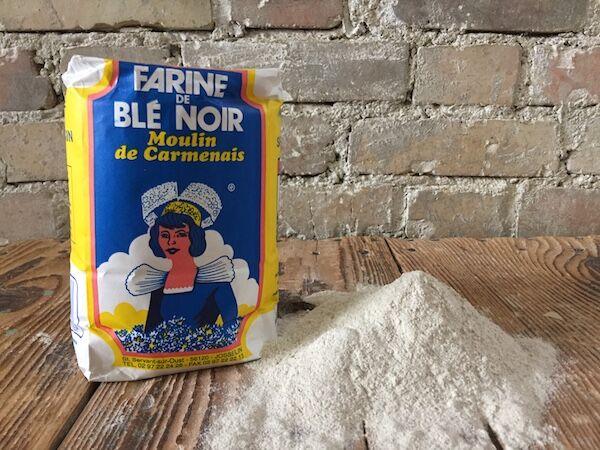 Moulins de Versailles Farine De Sarrasin (blé Noir) - 1kg