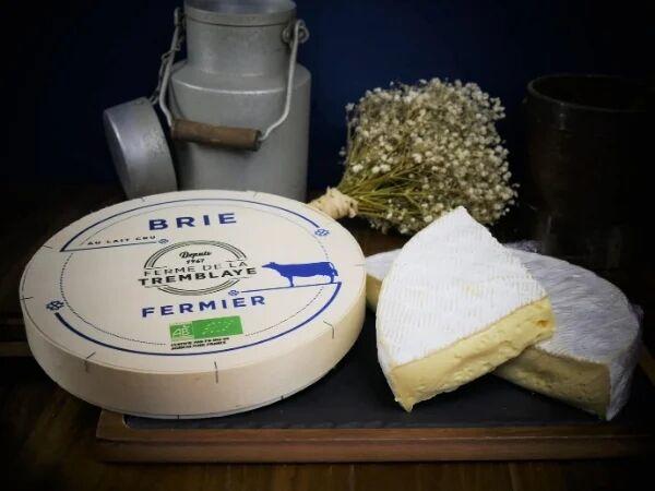 Ferme de La Tremblaye Brie Fermier Bio Au Lait Cru 1kg