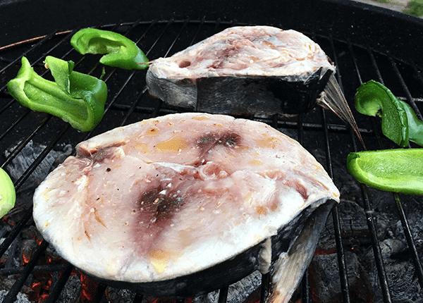 Ô'Poisson Tranche de Thon Blanc Pêché à la Ligne - Lot de 1kg