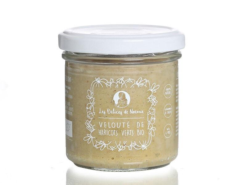 Les délices de Noémie Petits Pots Bébé 6 Mois: Lot de 3 Velouté de haricots verts Bio