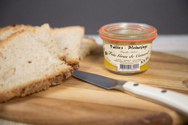 Ferme de Pleinefage Foie Gras de Canard entier cuit 60 g (1 personne)