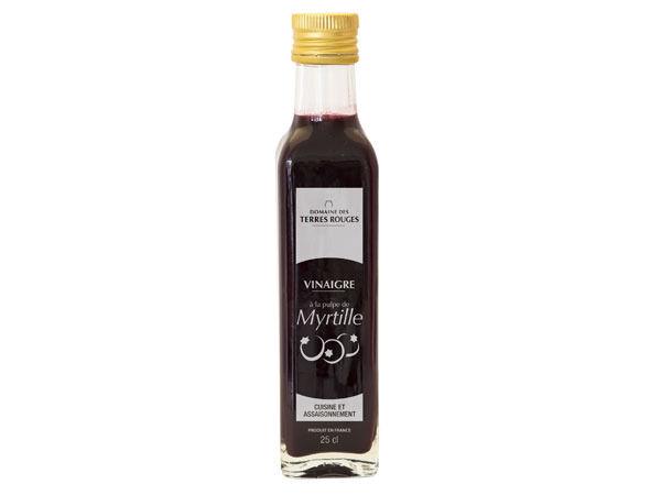 Domaine des Terres Rouges Vinaigre À La Pulpe De Myrtille 25cl