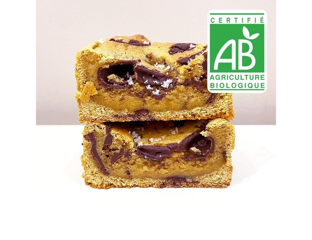 Pierre & Tim Cookies Brookie Bio Chocolat Noir Fleur De Sel