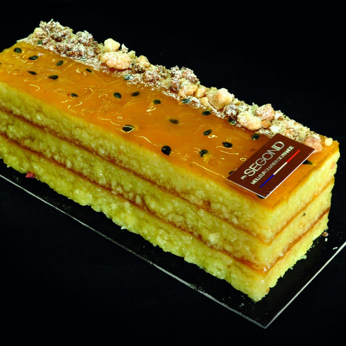 Philippe Segond MOF Pâtissier-Confiseur Gâteau Aux Fruits Exotiques Sans Gluten