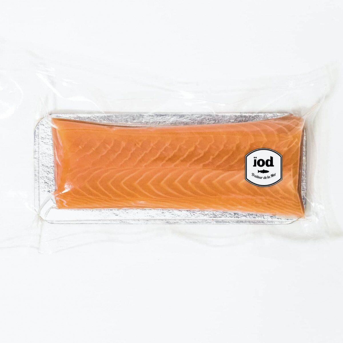 ÏOD Coeur de saumon fumé 120g non tranché