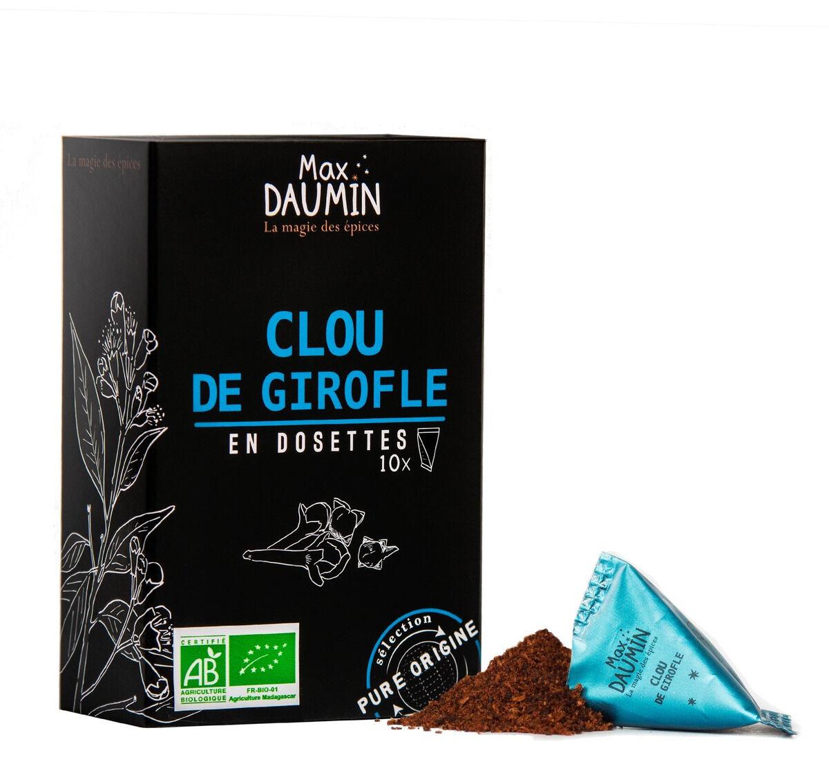 Epices Max Daumin Clou De Girofle - Boite de dix Dosettes