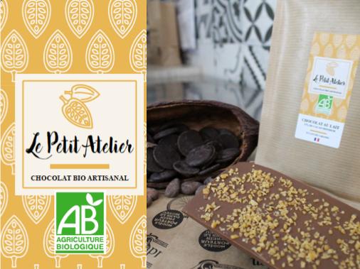 Le Petit Atelier Tablette Chocolat Au Lait Et Éclats De Caramel