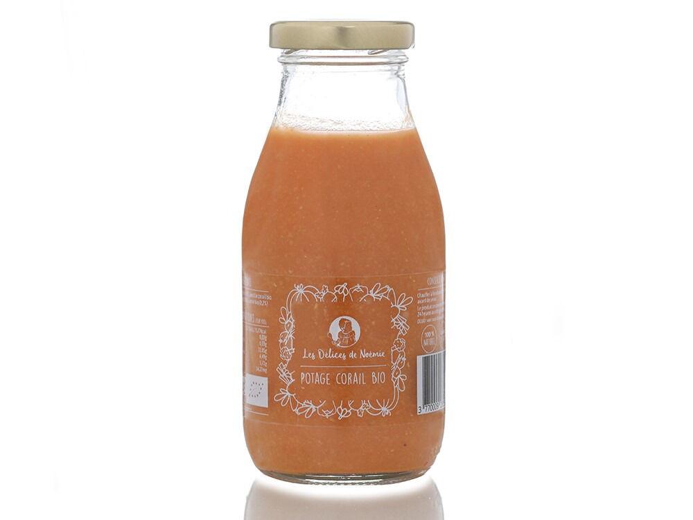 Les délices de Noémie Soupes pour Bébé dès 12 Mois: Lot de 3 Potage Corail Bio