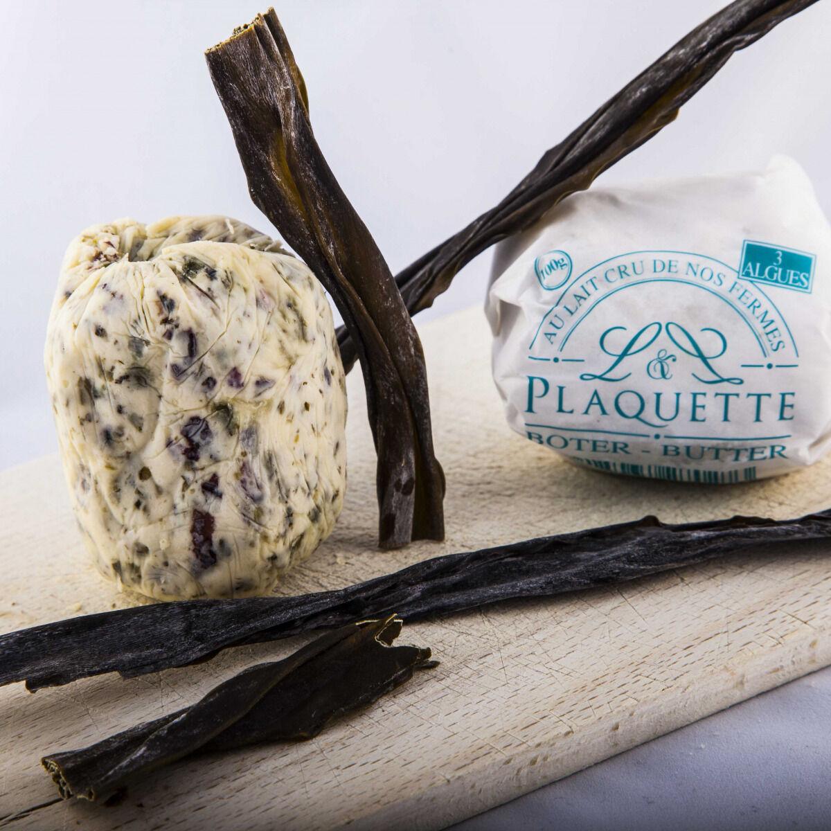 Beurre Plaquette Le Beurre Aux 3 Algues 100g