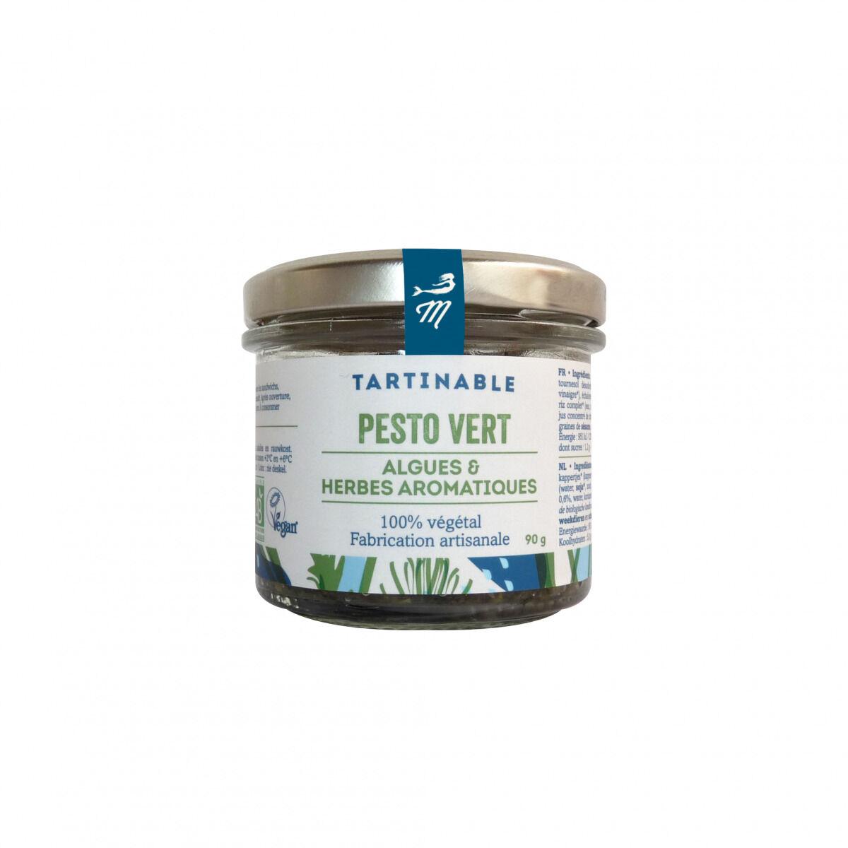 Marinoë Tartinable Pesto Vert : Algues & Herbes aromatiques