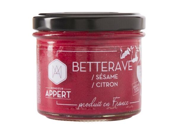Monsieur Appert Crème Apéritif Betterave/sésame/citron