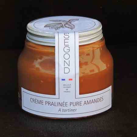 Philippe Segond MOF Pâtissier-Confiseur Pâte À Tartiner Pure Amande Sans Huile De Palme