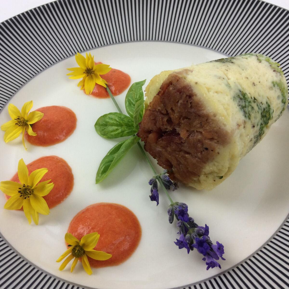 Christian Piot - Votre chef en ligne Muffin de brocolis en cœur de jambon de Reims