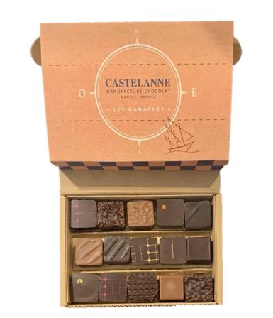Maison Castelanne Chocolat Coffret Assortiment Maison 15 Chocolats
