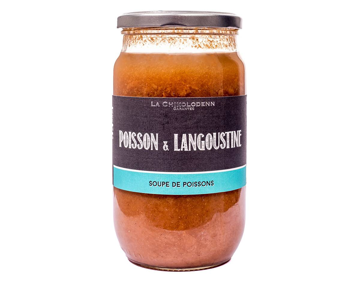 La Chikolodenn Soupe De Poissons Et Langoustines Nature 750g (2-3 Personnes)