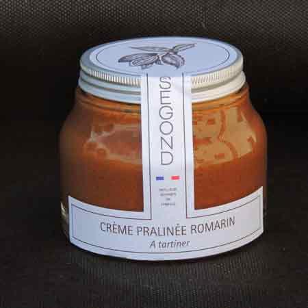 Philippe Segond MOF Pâtissier-Confiseur Pâte À Tartiner Chocolat Praliné Au Romarin