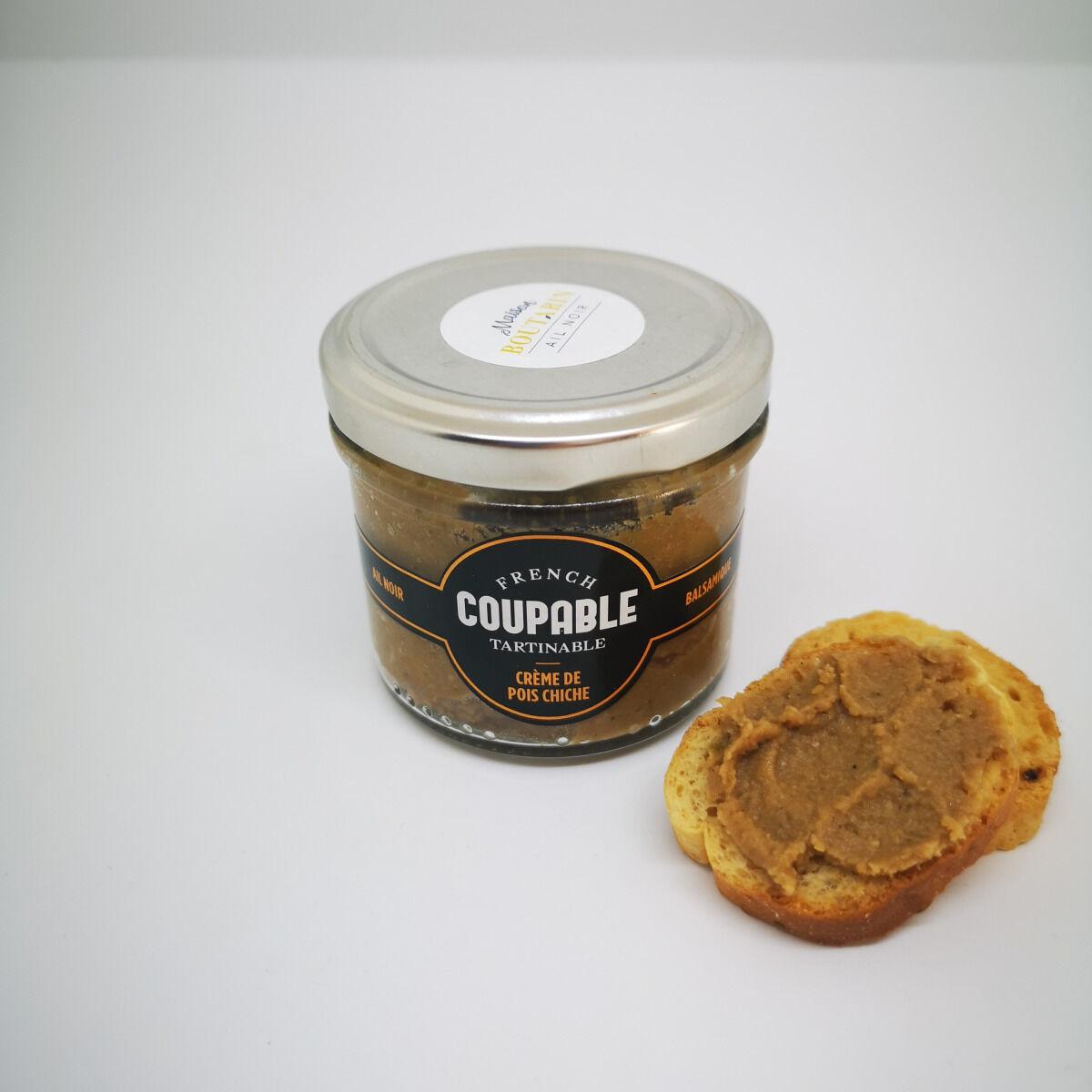 Maison Boutarin Crème Pois Chiche Et Ail Noir