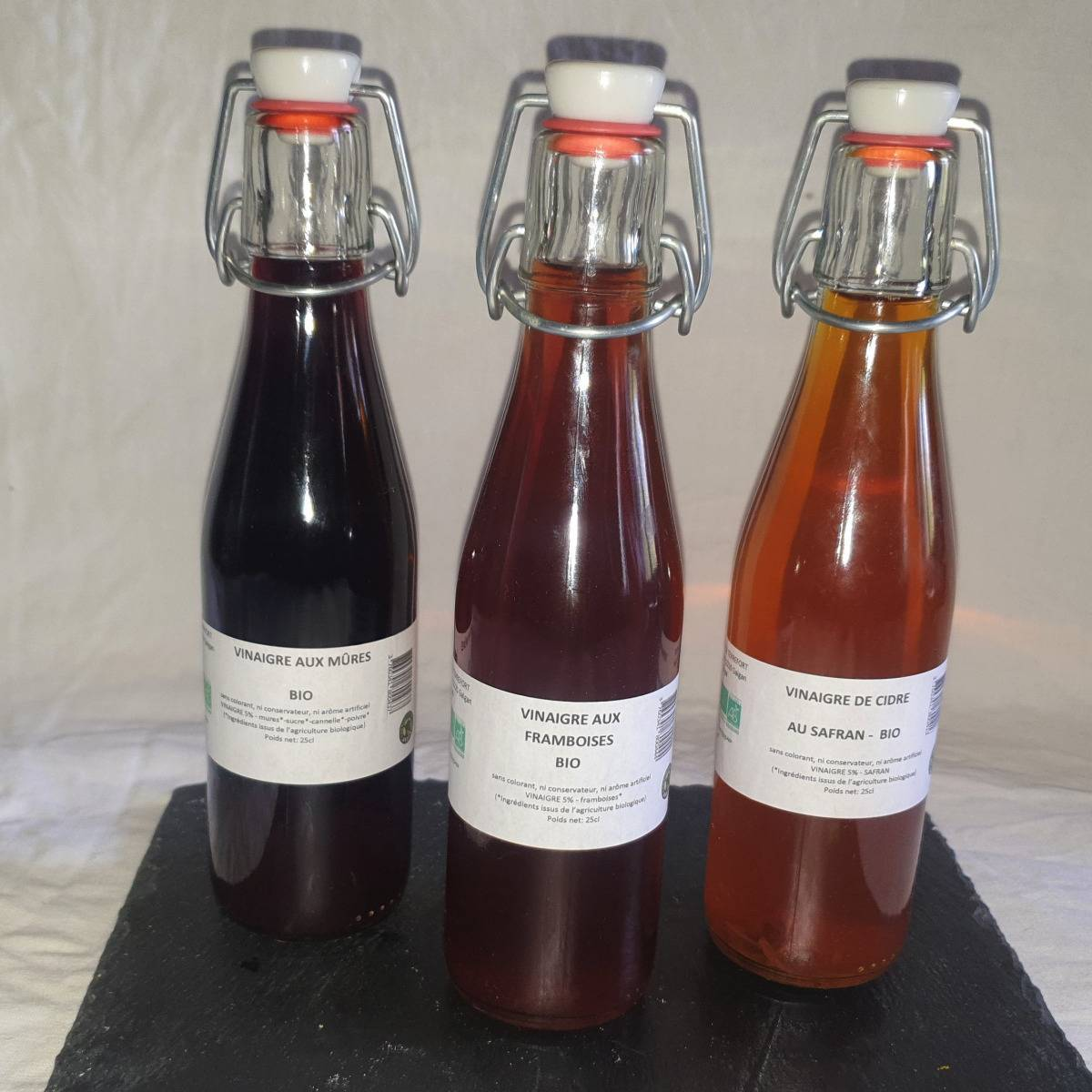 La Ferme du Montet Colis de Vinaigre BIO - 3 produits